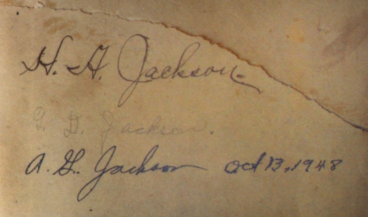 h.a jackson inventor of kitchen table